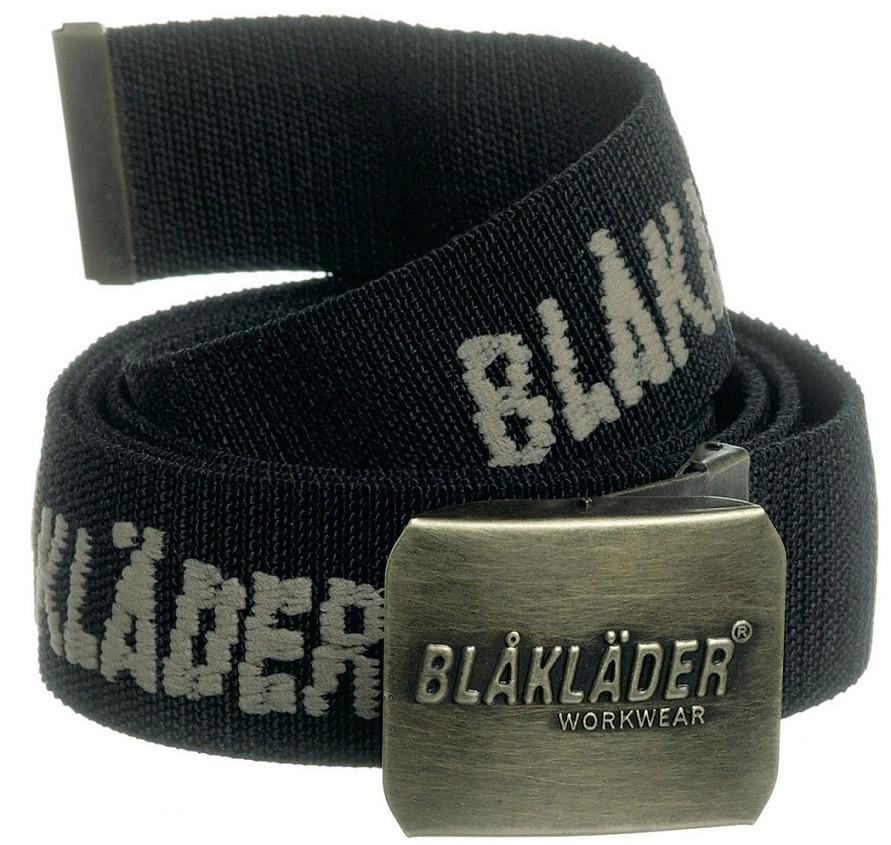 Blåkläder   zwarte riem 40030000 stretchdeze zwarte riem van blaklader is van degelijke kwaliteit. de zwarte ...