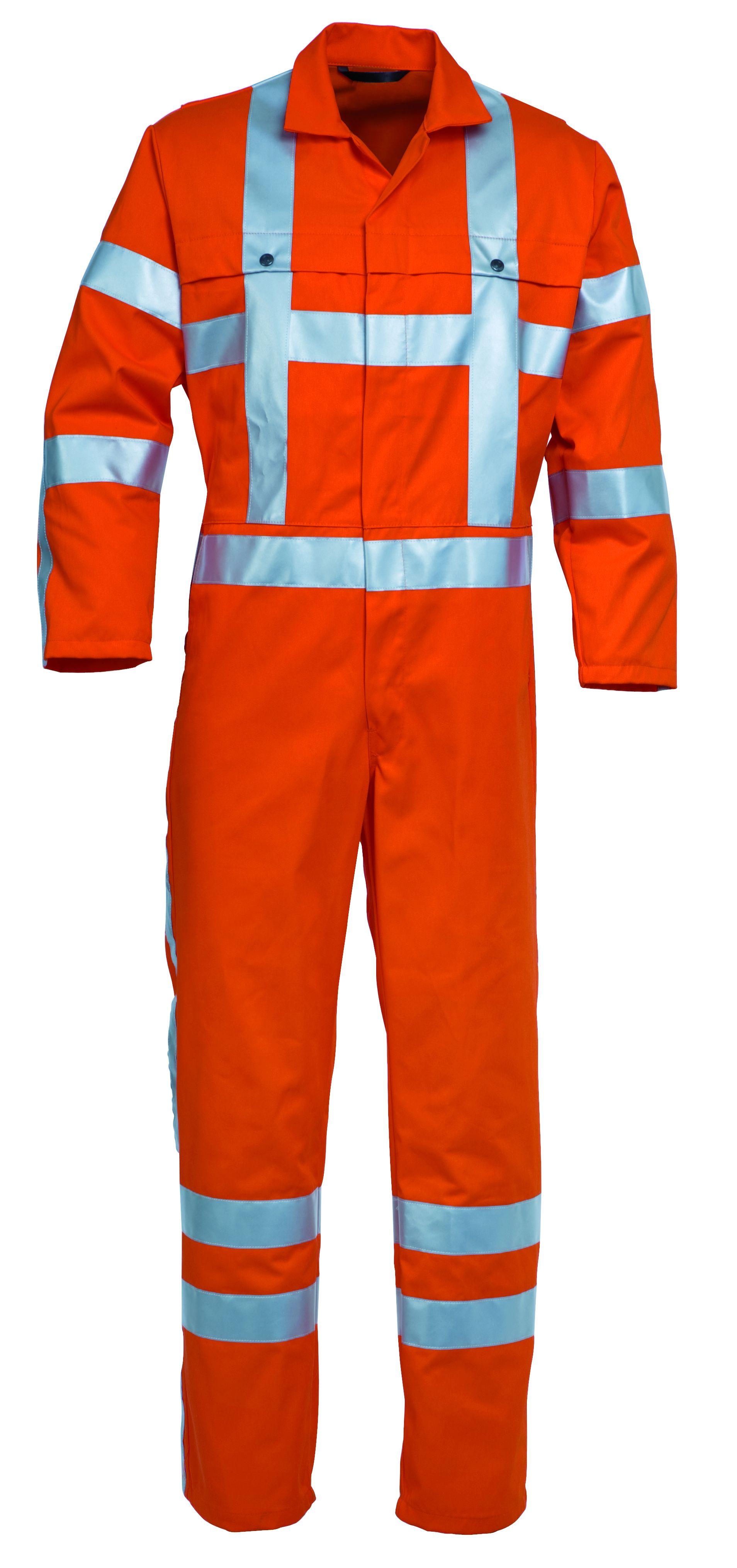 Havep overall EN471 maat 46 RWS 2400 fluor-oranje