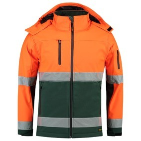 TSE3001 Softshell High Vis. Jack