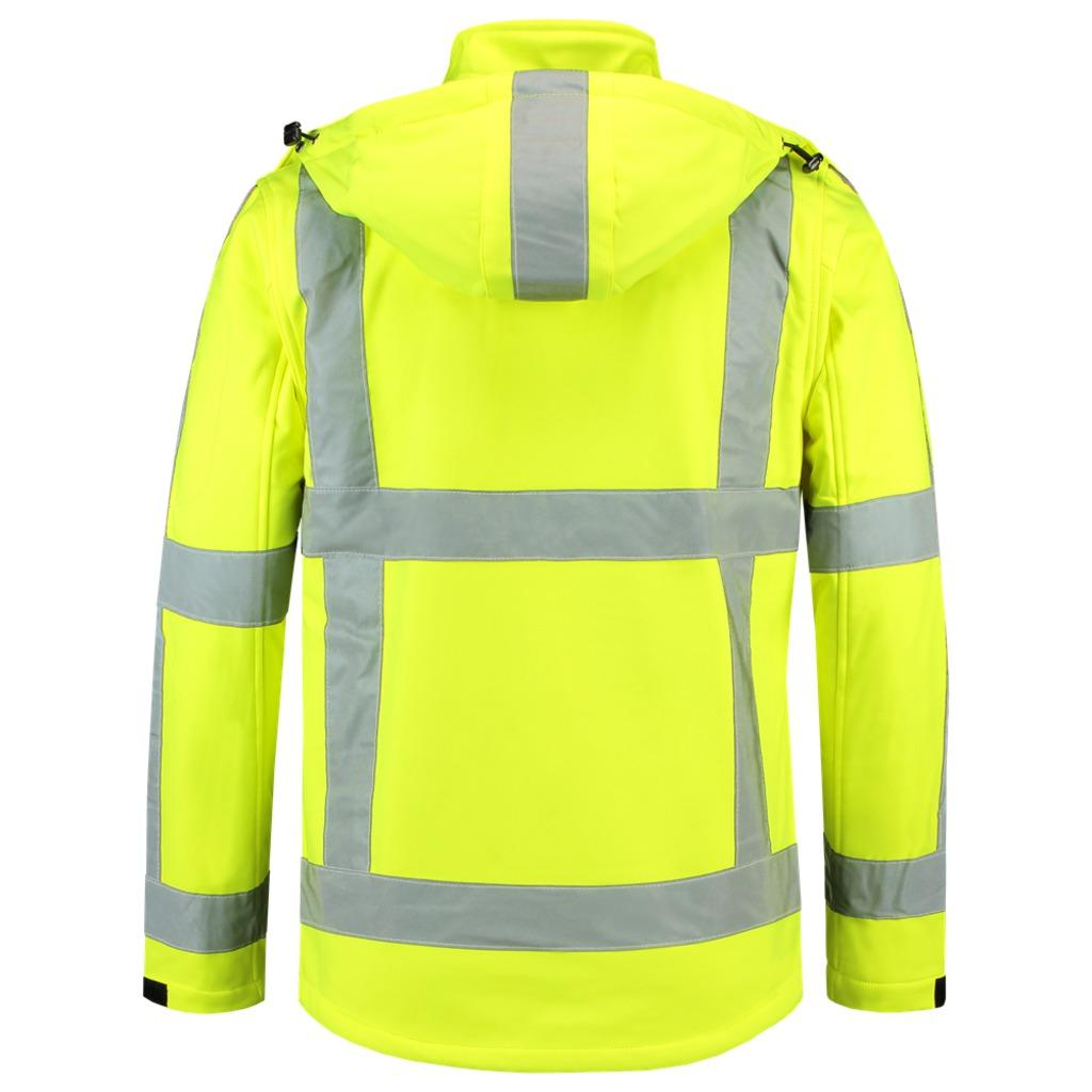 TJR3001 Softshell High Vis. Jack (RWS)