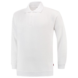 PSB280 Polosweater wit