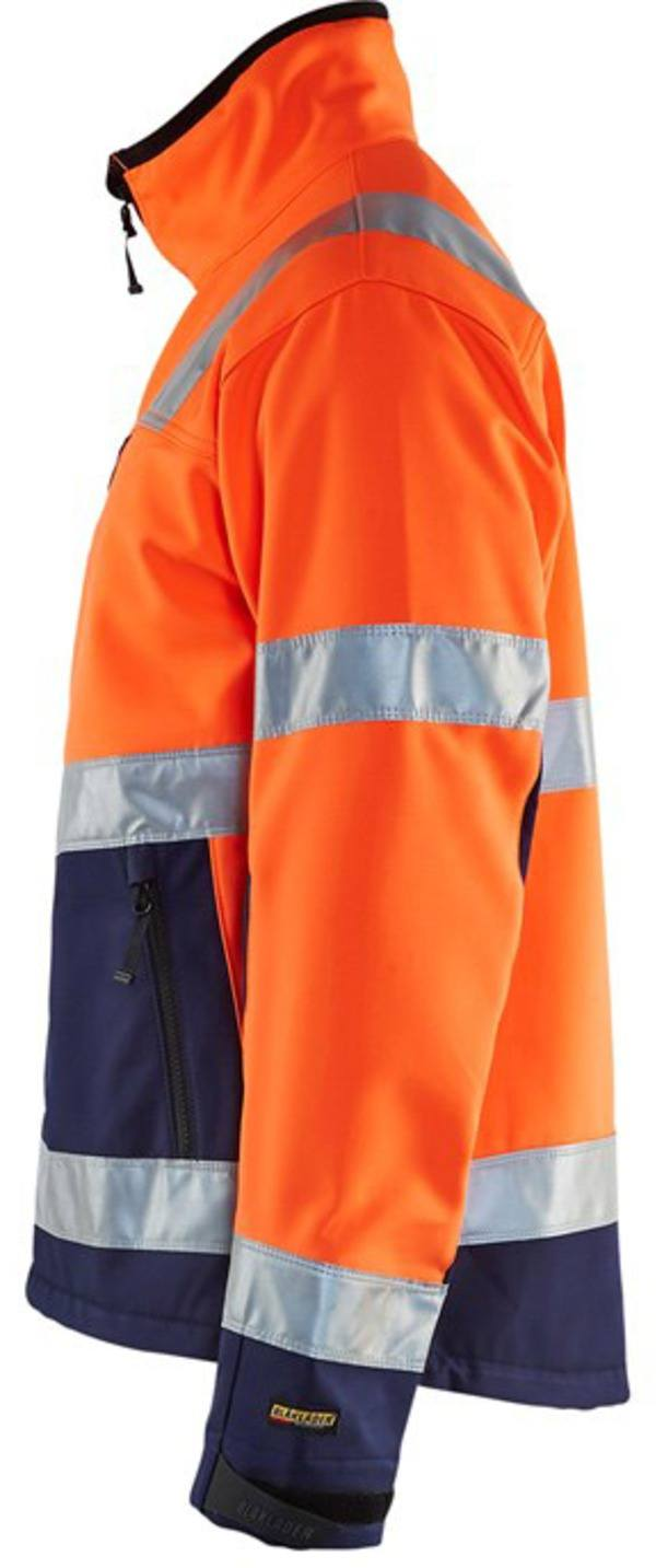 49002517 High Vis. Softshell Jas