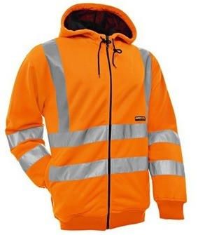 3346 1974 High Vis. Hooded Sweatshirt