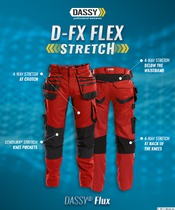 FLUX Werkbroek Stretch