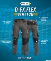 HELIX Werkbroek Stretch