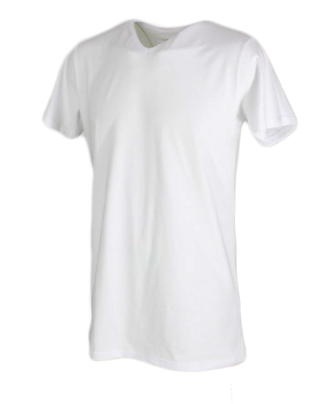 BASic T-shirt V-neck Extra Lang