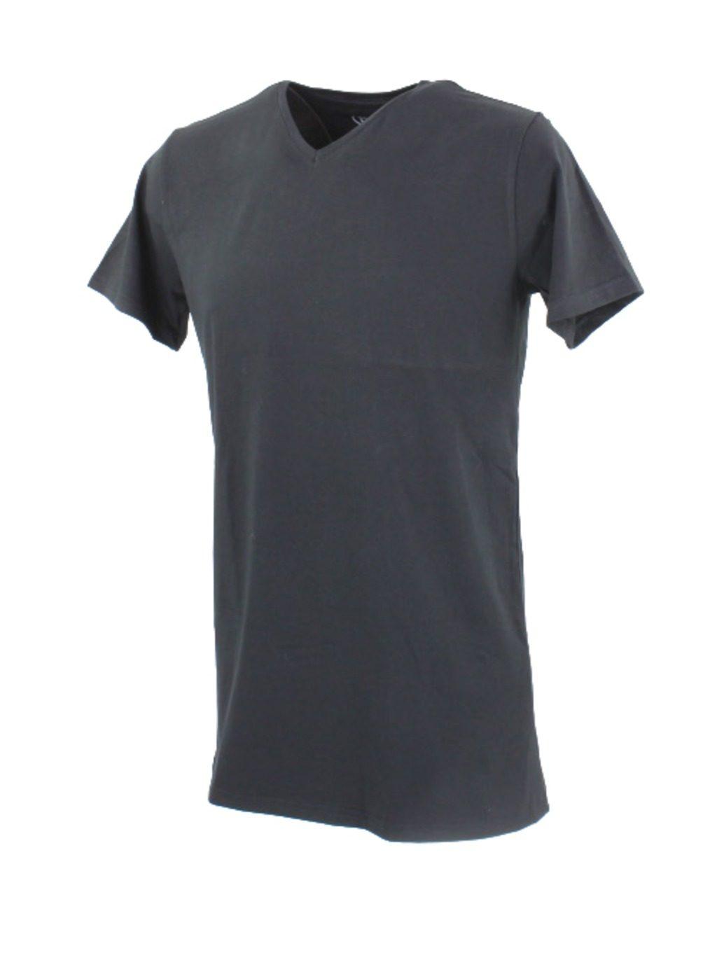 BASic T-shirt V-neck Extra Lang